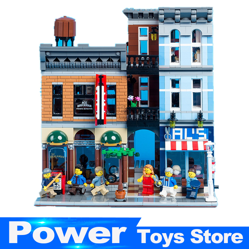 New Lepin 15011 2262pcs Series The Detective's Office Set Avengers Set Assemble Building Blocks Compatible legoed 10197 Toys new lp2k series contactor lp2k06015 lp2k06015md lp2 k06015md 220v dc