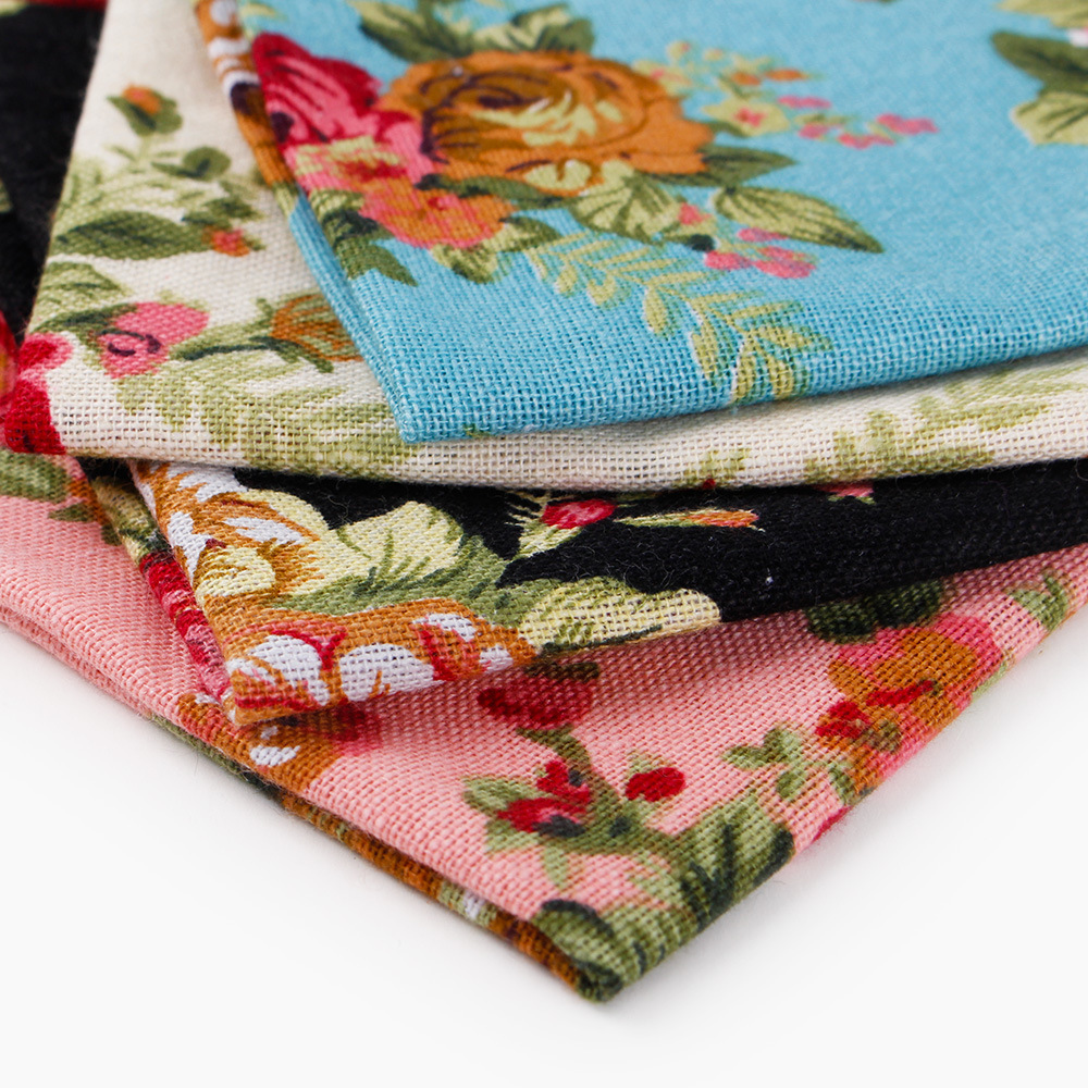 Men's Floral Printed Polyester Business Pocket  Square Towel Flower Scarves Men's Pocket Handkerchiefs