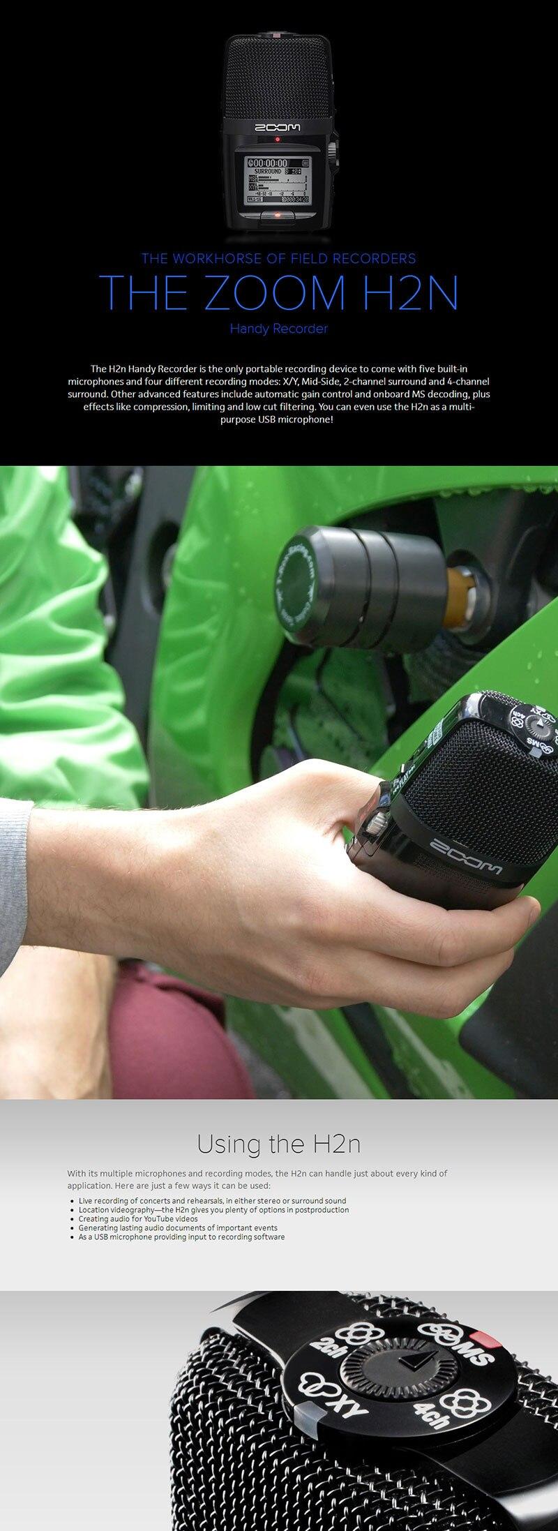 Zoom H2n Handy Recorder 4