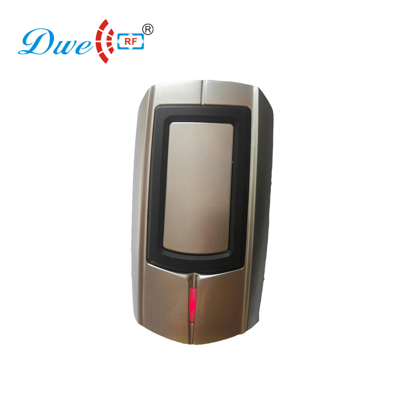 цена DWE CC RF access control card reader waterproof door anti-vandal entry security proximity reader