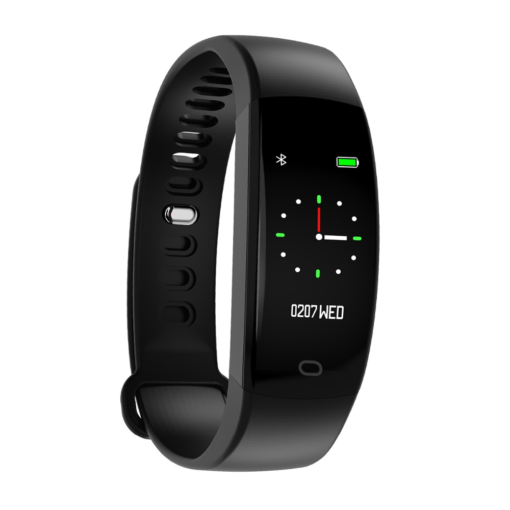F64 HR Bluetooth Smart Bracelet IP68 Waterproof Heart Rate Blood Pressure Oxygen Fitness Tracker For Xiaomi Android & IOS Phone