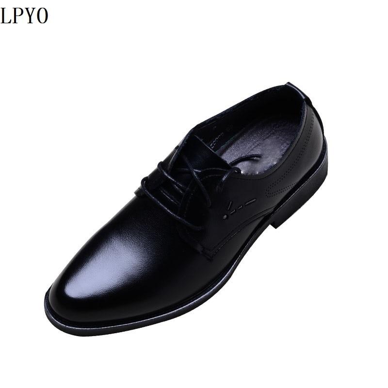 Doux De En D'affaires Édition Pointu Noir Costume Travail Han Cuir Loisirs Chaussures 02 Cuir 01 Hommes Visage UwrnUq1B