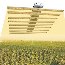 Phlizon светодиод полный спектр фито свет 640 Вт светодиодная лента для растений dual светодиодных чипов
