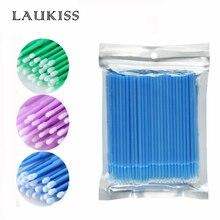 1000pcs Eyelash Brushes microbrush for eyelash Disposable EyeLash Extension Glue Cleaning Brushes Applicator Sticks Makeup Tools