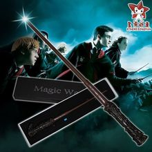 2016 Hot sale Led Light Harry James Potter's  Wand  Magical Wand New in Box  for  stage  Magic Tricks Christmas gift