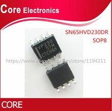 50PCS SN65HVD230DR SN65HVD230 65HVD230DR 65HVD230 3.3V CAN TXRX W/STNDBY SOP8 IC