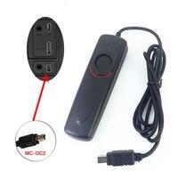 Liberação Do Obturador Controle remoto Cabo como MC DC2 para Nikon Z7 Z6 D780 D7500 D7200 D7100 D5200 D5300 D5500 D5600 D3200 D3300 DF|shutter release cable|release cable|remote control shutter -