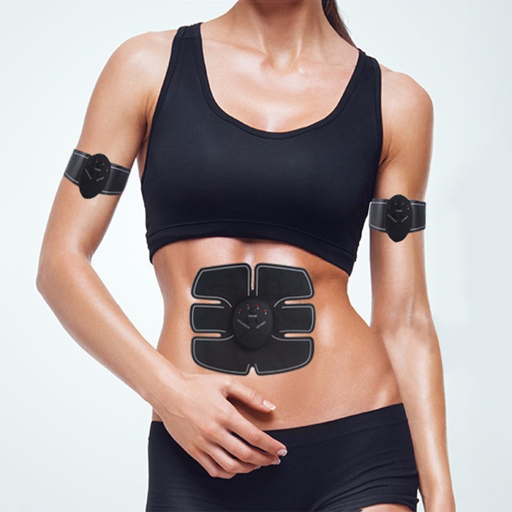 Multi-Function Smart Electric Pulse Abdominal Muscle Trainer abdominal muscles intensive training Electric Weight Loss Slimming multi function smart ems abdominal muscle stimulator exerciser trainer device muscles training weight loss slimming massager 30