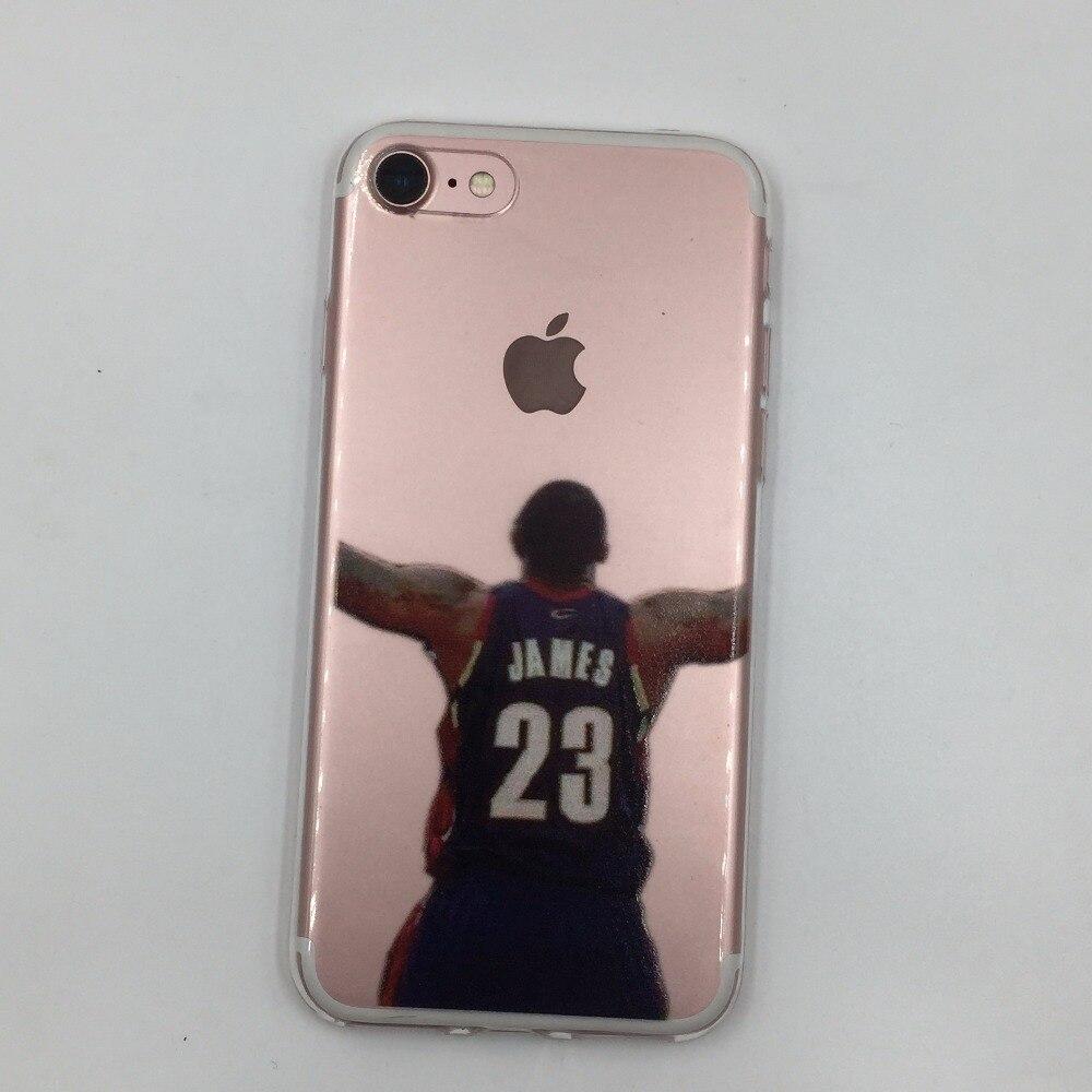 lebron dunking apple logo case. basketball player curry westbrook jordan printed s. lebron dunking apple logo case