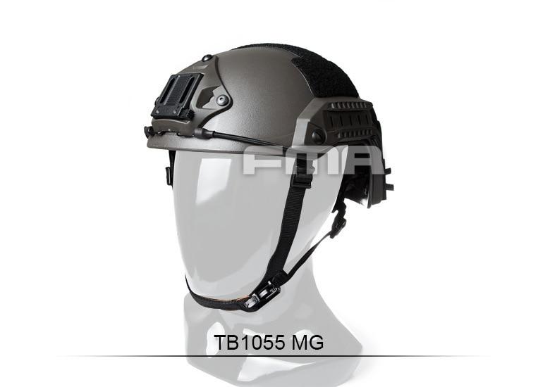 Tactical helmet FMA maritime military Helmet Mass Grey ABS TB1055-M/L L/XL climbing helmet tanluren sw2142 tactical abs war game helmet black