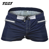 New Man Short Low Elastic Waist Short Sport Short With Zipper Pockets Solid Brand Tqqt Paradeplatz