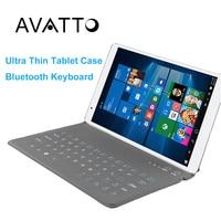 Universele 9.7 Ultra Dunne Bluetooth Draadloze Vouwen Tablet Toetsenbord Beschermende Gevallen voor Android IOS Windows Tablet ipad air 2