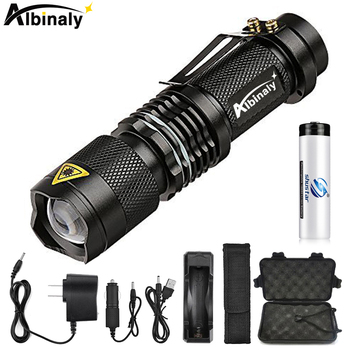 Super brigh LED Flashlight Zoom L2 Led lamp bead Torch 5 mode camping lamp waterproof Use 18650 Rechargeable battery jetbeam hc20 800lm 5 mode cool white led head lamp flashlight black 1 x 18650