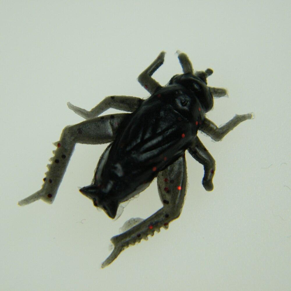 gemischtes Set 100 Stück Würmer Krabben etc Insekten Softbait Creature Set