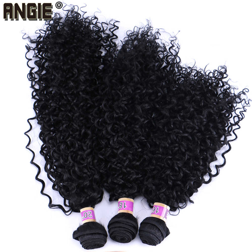 Кудрявые вьющиеся волосы плетение 70 г/шт. термостойкие tissage волокно синтетические волосы пучок s Двойной Уток расширение для женщин 1 пучок только