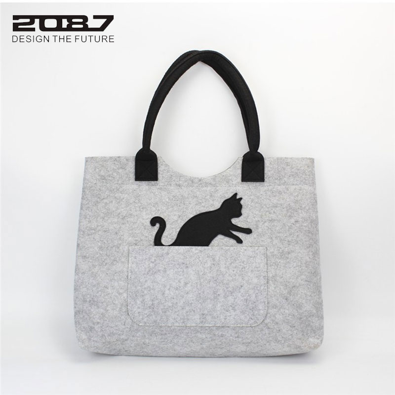 grande bolsa de ombro, marca Bag Material : Eco-friendly Felt