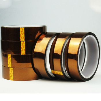 1 Roll 33 meters High-temperature tape , Polyimide  Kapoton tape, Industry heat-resistant adhesive tape 18mm high temperature resistant kapton tape