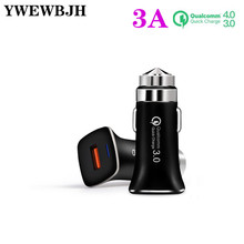YWEWBJH Quick Charge 3.0 USB Car Charger For iPhone X xs xr max  P30 9V12V fast charge car charger metal safety