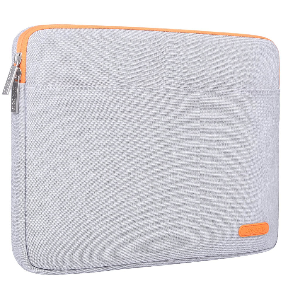 MOSISO Gray 2018 Soft Laptop Sleeve Case for Notebook Computer 12.9 13 13.3 inch Sleeve Cover for Macbook Air/Retina Pro 13 inch