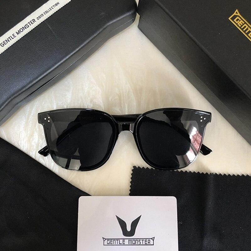 2019 Brand Designer Women Gentle Monster Sunglasses Fashion Cat Eye Retro Sunglass Woman Vintage Sun Glasses Original Package