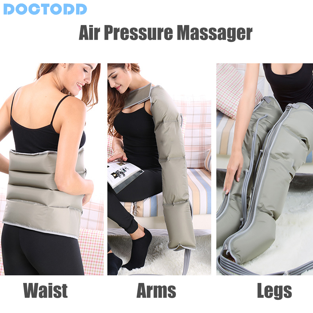 Image 3 - Air Wave Pressure Massager Continuous Compression Circulator Leg Arm Waist Leg Massageing Machine Muscles Relaxed Recovery Devic-in Massage & Relaxation from Beauty & Health