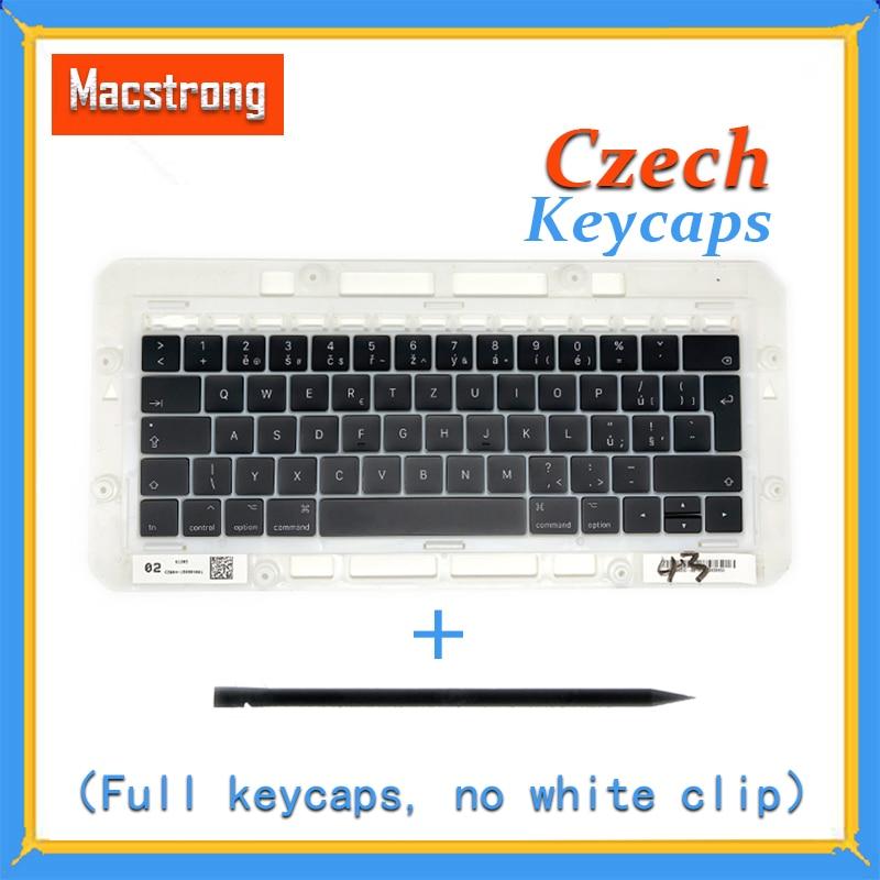 Original A1706 A1707 A1708 Czech Keycaps For font b Macbook b font Pro Air Retina 13