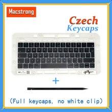 Original A1706/A1707/A1708 Czech Keycaps For Macbook Pro/Air Retina 13″ 15″ A1932/A1990/A1989 CZ Keys Replacement Keyboard