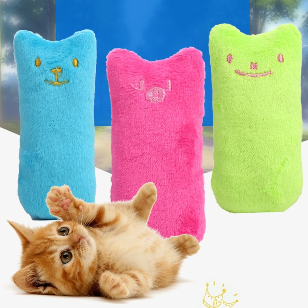 Popular Cute Interactive Pets Teeth Grinding Catnip Toys Fancy Claws Thumb Bite Toy Bite-resistant Cat Mint Funny Cat Toys