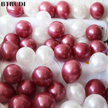 BTRUDI 10pcs round pearlescent latex balloons 12inch 2.8g wedding party birthday decoration balloon multicolor