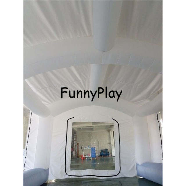 Us 255 0 15 Off Portable Paint Booths Used Spray Booth For Sale Puzzle Inflatable Spray Booth For Car Painting Outdoor Inflatable Spray Tent In