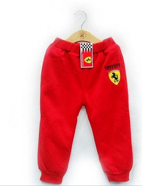 Baby Boys Car Logo Pants