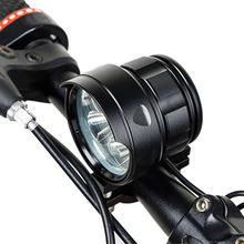 Shock Resistant & IP6 Waterproof Led Bicycle Front Light Bike Headlight 5 to 18 * XML T6 Lamp with 6*18650 Battery Power Pack 10000lm 3x xml t6 led 4 2v adjust angle front bicycle light bike lamp headlight with battery back tail light
