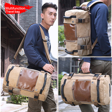 Вместительный тканевый рюкзак KAKA для мужчин и женщин, функциональный дорожный водонепроницаемый повседневный рюкзак для компьютера, ранец на плечо