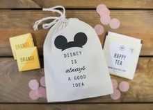 personalize Always is a good idea mouse Bachelorette wedding Hangover relief Kits Jewelry gift Bags muslin pouches gift bags(China)