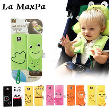 Baby Car Seat Safety Belt Strap Cover Pad Safety Shoulder Pads Soft Strap Protection Cushion Baby Stroller Accessories