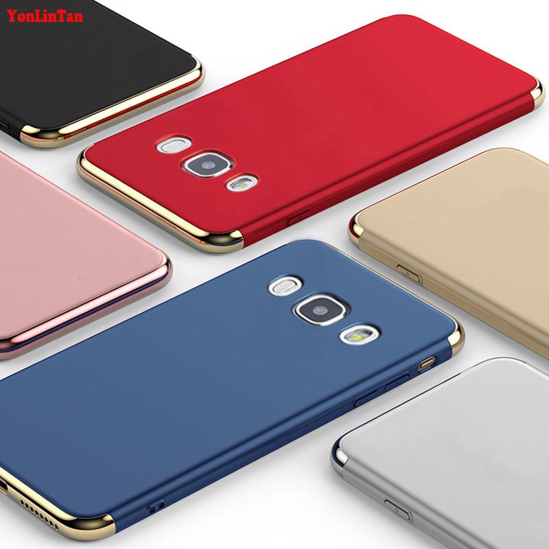 YonLinTan Coque,Case,cover For Samsung Galaxy j5 ( 2016 ) j510 Original Luxury Plating 3in1 hard Plastic Phone Protective Cases