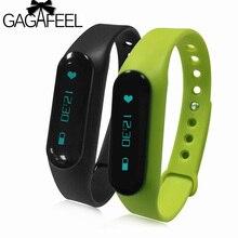 Smart Bracelet Bracelet Podomètre Moniteur de Fréquence Cardiaque de Femmes Hommes de Bluetooth Intelligents Montres pour Android/IOS Téléphone