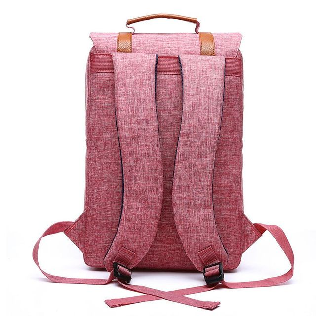 2018 Vintage Men Women Canvas Backpacks School Bags for Teenagers Boys Girls Large Capacity Laptop Backpack Fashion Men Backpack 3