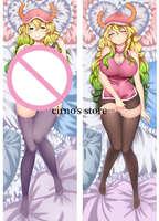Kobayashi-san Chi no Maid Dragon anime Characters sexy girl quetzalcoatl Lucoa body pillow cover kanna kamui Dakimakura