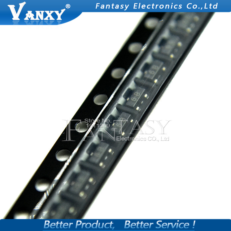 100PCS BC817-25 SOT23 817-25 SOT SMD 6B New Transistor