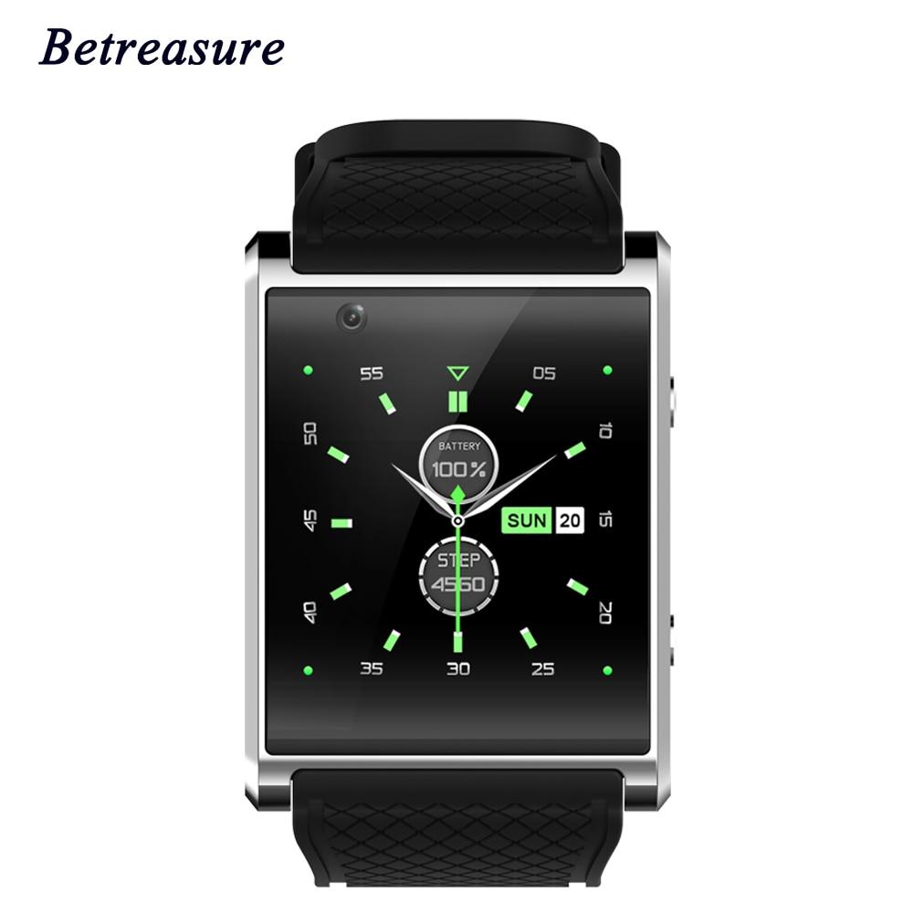 Здесь можно купить   Betreasure Bluetooth 3G Wifi Smart Watch Android 5.1 SOS Camera 2.0 1.54 inch SIM Card GPS SmartWatch For IOS Android Phone Бытовая электроника