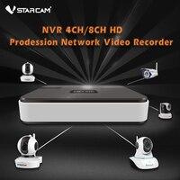Vstarcam 4ch nvr רשת מקליט וידאו 1280*1024 ברזולוציה קלט אודיו hdmi onvif תמיכת אחסון הענן vstarcam ip מצלמה