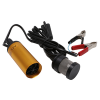 DC12V Stainless Steel Submersible Diesel Fuel Water Oil Pump 12L Min 38mm GD