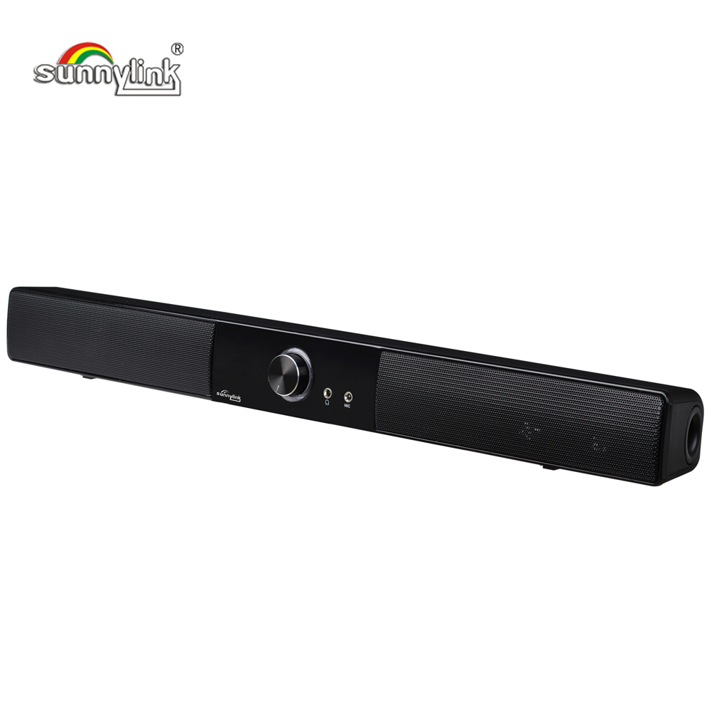 LEISTUNGSSTARKE USB MINI SOUNDBAR/<font><b>SOUND</b></font> <font><b>BAR</b></font>, HIFI USB POWERED SOUNDBAR LAUTSPRECHER FÜR COMPUTER/PC/LAPTOP/TABLETTEN/KLEINE <font><b>TV</b></font> ETC image