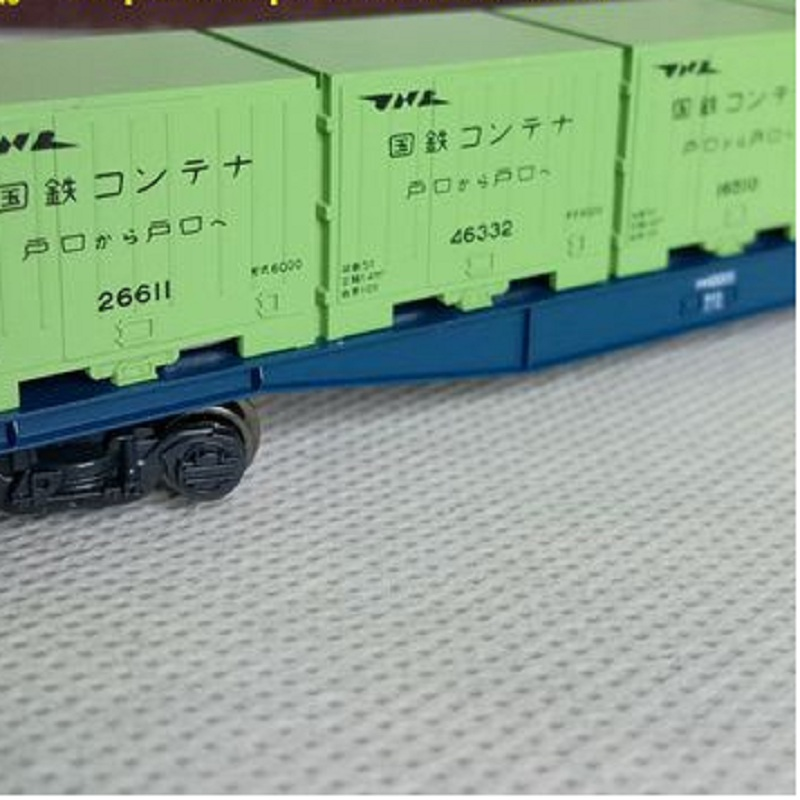 1:150 Train container model freight transport vehicle for model train layout