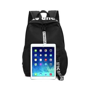 Image 3 - Mochila de gran capacidad a la moda para hombre y mujer, bolso escolar de nailon para adolescentes, bolso informal para estudiantes, mochila para chicas adolescentes