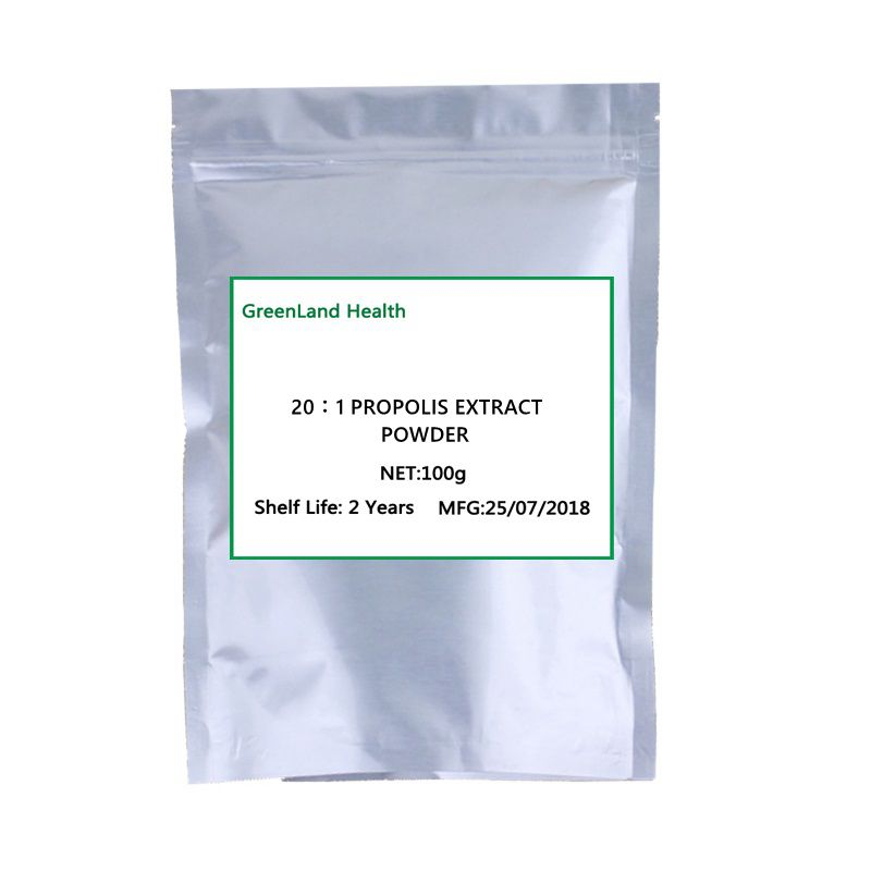 Hot Selling 20:1 Pure Natural Propolis Extract Powder,Antiphlogosis, Beautify skin, все цены
