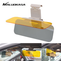 MALUOKASA HD Car Anti Glare Dazzling Goggle Day Night Vision Driving Sun Visors Mirror Driving Mirror