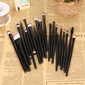 T2N2 Pro 20 Eye Makeup Brushes Set Foundation Shadow Eyeshadading Eyebrow Eyeliner Brush Kit Blending Brush Cosmetic Tool