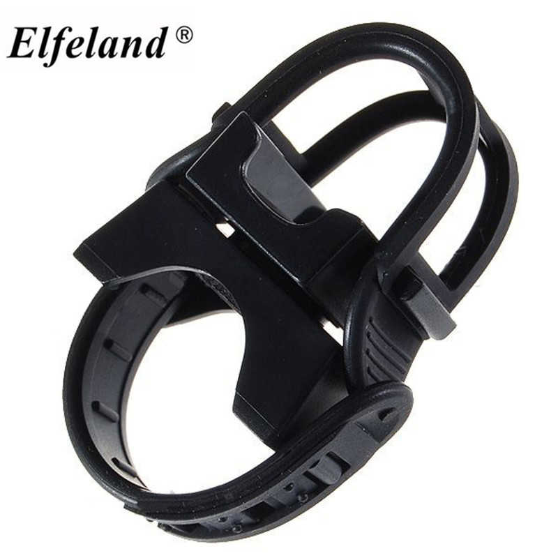 Adjustable 360 Swivel Cycling Bike Light LED Flashlight holder Torch Mount Bracket Bicycle Front Light Rotational Clip Clamp 360 degree swivel bicycle bike mount holder clip clamp for flashlight torch universal rubber bicycle bike mount bracket clip